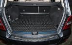Коврик в багажник автомобиля Mercedes-Benz GLK-Class (X204) 2008- полиуретановый черный