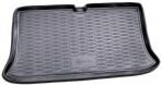 Коврик в багажник автомобиля Nissan Micra 2002-2010 полиуретановый черный