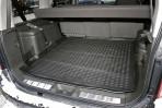 Коврик в багажник автомобиля Nissan Pathfinder 2004- полиуретановый черный
