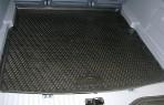 Коврик в багажник автомобиля Nissan Qashqai+2 2008- полиуретановый черный