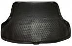 Коврик в багажник автомобиля Nissan Tiida Sedan 2004- полиуретановый черный