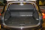 Коврик в багажник автомобиля Infiniti EX 2007- полиуретановый черный