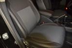 Чехлы из ЭКОкожи для Geely Emgrand X7 (GX7) 2013- серая строчка
