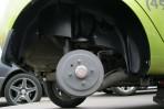 Подкрылок Chevrolet Spark 2010- задний правый