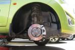 Подкрылок Chevrolet Spark 2010- передний правый