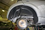 Подкрылок Citroen C1 2005- задний правый