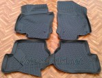 3D коврики в салон для Volkswagen Jetta 2005-2010