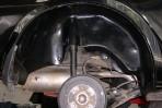 Подкрылок Geely MK/MK2 2008- задний правый