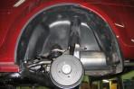 Подкрылок Renault Logan Sedan 2004-2013 задний левый