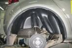Подкрылок Renault Sandero 2009-2013 задний правый