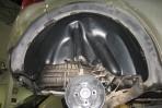 Подкрылок Renault Sandero Stepway 2009-2013 задний правый