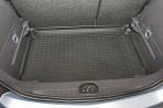 Коврик в багажник автомобиля Opel Corsa 2006- полиуретановый черный