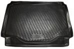 Коврик в багажник автомобиля Opel Mokka 2013- полиуретановый черный