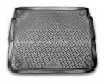 Коврик в багажник автомобиля Peugeot 3008 2010- (верхний) полиуретановый черный