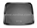 Коврик в багажник автомобиля Peugeot 3008 2010- (нижний) полиуретановый черный