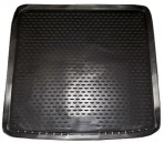 Коврик в багажник автомобиля Renault Duster 4x4 2010- полиуретановый черный