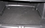 Коврик в багажник автомобиля Renault Fluence 2010- полиуретановый черный