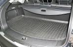 Коврик в багажник автомобиля Ssang Yong Actyon 2006-2013 полиуретановый черный