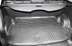 Коврик в багажник автомобиля Ssang Yong Korando 2010- полиуретановый черный