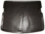 Коврик в багажник автомобиля Ssang Yong Kyron 2005-2007 полиуретановый черный