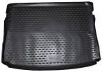 Коврик в багажник автомобиля Volkswagen Golf VII 2013- полиуретановый черный