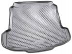 Коврик в багажник для Volkswagen Polo Sedan 2010- полиуретановый серый