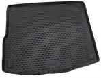 Коврик в багажник автомобиля Volkswagen Touareg 2010- (4-х зон. климат-контроль) полиуретановый черный
