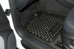 Коврики в салон для Audi Q5 2008- черные
