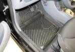 Novline Коврики в салон для Citroen C1 2005- черные