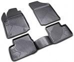 Коврики в салон для Citroen C3 2010 - черные