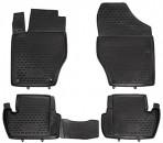 Novline Коврики в салон для Citroen C4 2010- черные