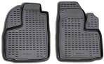 Novline Коврики в салон для Fiat Doblo 2000- передние черные