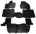 Коврики в салон для Ford Explorer 2010- черные