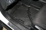 Коврики в салон для Honda CR-V 2013- черные