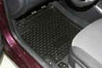 Коврики в салон для Hyundai Accent Hatchback 2011- черные