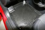 Коврики в салон для Hyundai Veloster 2011- черные