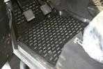 Коврики в салон для Land Rover Defender (90) 2007- (3 двери) передние черные