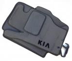 Коврики в салон текстильные для Kia Sorento 2002-2009 серые ML