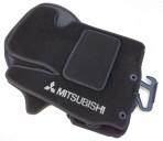 Коврики в салон текстильные для Mitsubishi ASX 2011- черные ML