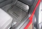 Коврики в салон для Mazda 3 2009-2013 черные