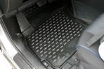 Коврики в салон для Mazda 5 2010- черные