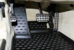 Коврики в салон для Mercedes-Benz SL-Class (R230) 2008- черные