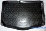 Резиновый коврик в багажник Citroen C3 2002-2010