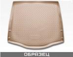 Коврик в багажник для Nissan Qashqai 2007- полиуретановый бежевый