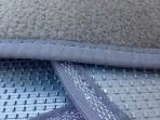 CMM Текстильные коврики в салон для Toyota Avensis 2009- черные ML Lux 2 клипсы