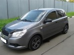 Дефлектор капота для Chevrolet Aveo 2008-2012 Hatchback (5 дверей)