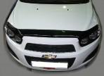 Sim Дефлектор капота для Chevrolet Aveo 2012-