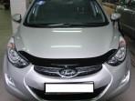 Sim Дефлектор капота для Hyundai Elantra MD 2011-