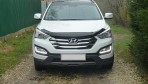 Дефлектор капота для Hyundai Santa Fe (DM) 2013-