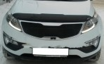 Дефлектор капота для Kia Sportage III 2010-
